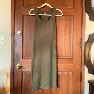 American Apparel Olive Dress